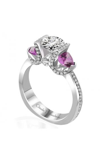 Claude Thibaudeau La Trinite Engagement Ring PLT-10012-MP product image