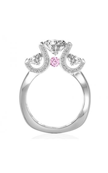Claude Thibaudeau La Trinite Engagement Ring PLT-1985-MP-PD product image