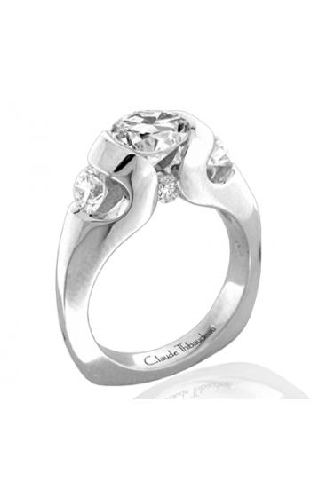 Claude Thibaudeau La Trinite Engagement Ring PLT-1849 product image