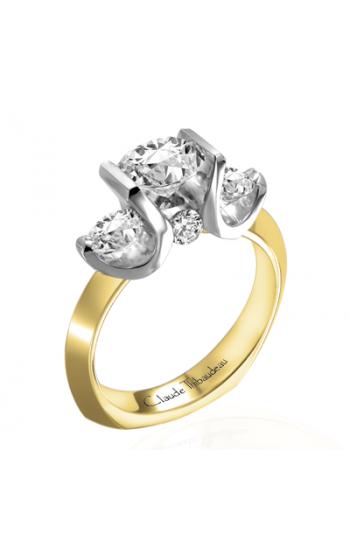 Claude Thibaudeau La Trinite Engagement ring PLT-2705 product image