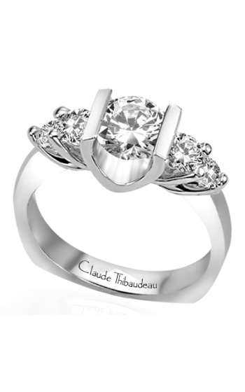 Claude Thibaudeau La Trinite Engagement ring PLT-1336 product image