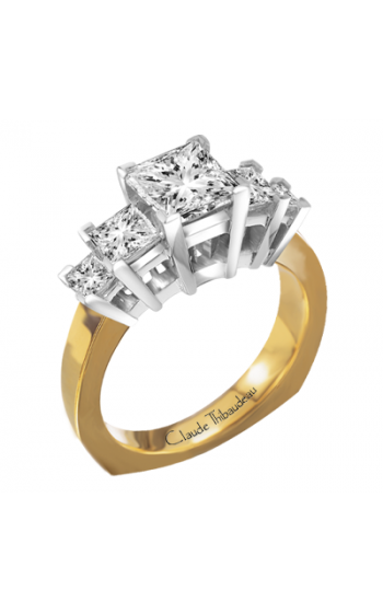 Claude Thibaudeau La Trinite Engagement ring PLT-2865 product image