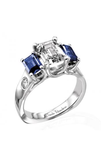 Claude Thibaudeau La Trinite Engagement ring PLT-1567 product image