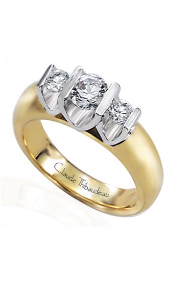 Claude Thibaudeau La Trinite Engagement Ring PLT-2344 product image