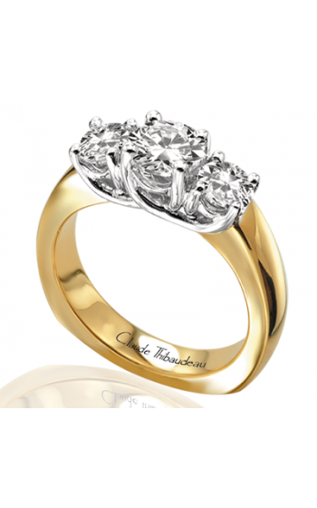 Claude Thibaudeau La Trinite Engagement Ring PLT-2611 product image