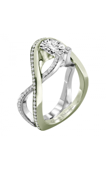 Claude Thibaudeau Avant-Garde Engagement Ring PLT-1981V-MP product image
