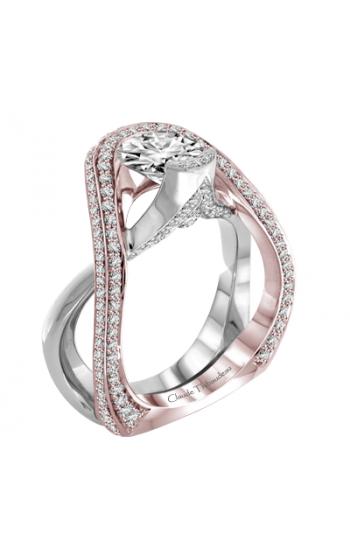 Claude Thibaudeau Avant-Garde Engagement ring PLT-1976R-MP product image