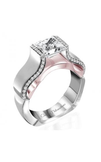 Claude Thibaudeau Avant-Garde Engagement Ring PLT-10065R-MP product image