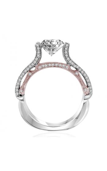 Claude Thibaudeau Avant-Garde Engagement Ring PLT-10061R-MP product image
