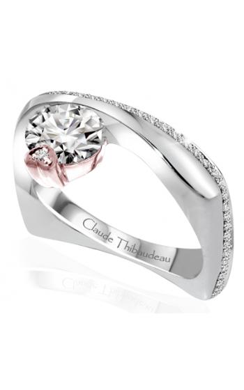Claude Thibaudeau Avant-Garde Engagement ring PLT-10050R-MP product image