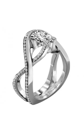 Claude Thibaudeau Avant-Garde Engagement Ring PLT-1981-MP product image