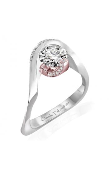 Claude Thibaudeau Avant-Garde Engagement ring PLT-10035R-MP product image