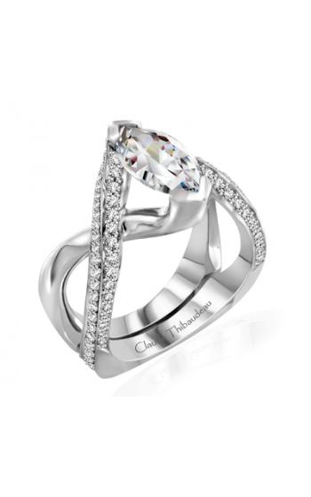 Claude Thibaudeau Avant-Garde Engagement ring PLT-10020-MP product image