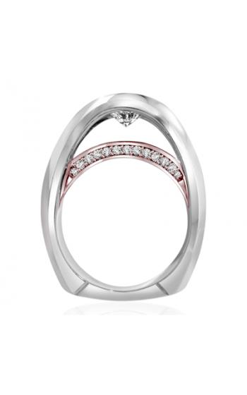 Claude Thibaudeau Avant-Garde Engagement ring PLT-1882R-MP product image