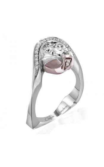 Claude Thibaudeau Avant-Garde Engagement Ring PLT-1962R-MP product image