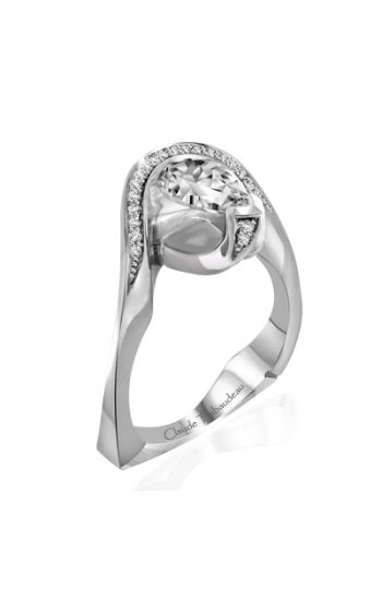 Claude Thibaudeau Avant-Garde Engagement Ring PLT-1962-MP product image
