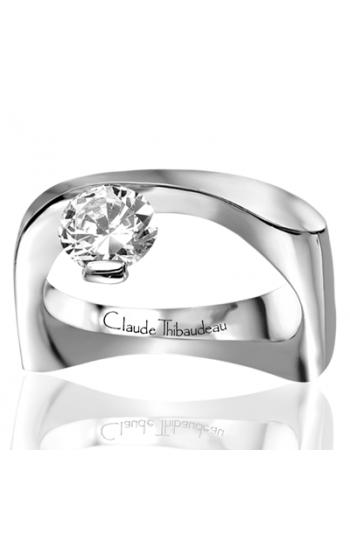 Claude Thibaudeau Avant-Garde Engagement ring PLT-1136 product image