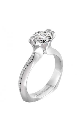 Claude Thibaudeau Simplicite Engagement ring PLT-1994-MP product image