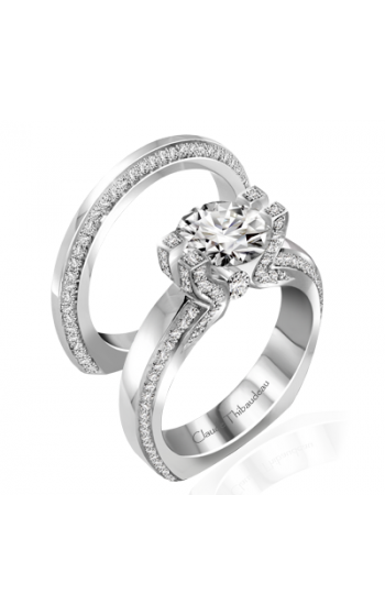 Claude Thibaudeau Simplicite Engagement ring PLT-10014-MP product image