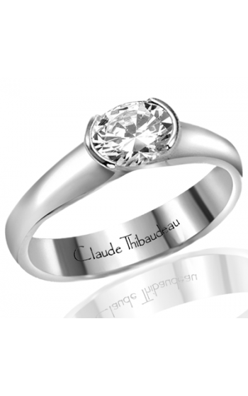 Claude Thibaudeau Simplicite Engagement Ring PLT-1308-MP product image