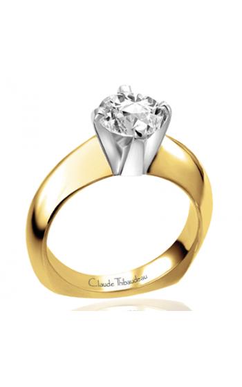 Claude Thibaudeau Simplicite Engagement ring PLT-2624 product image