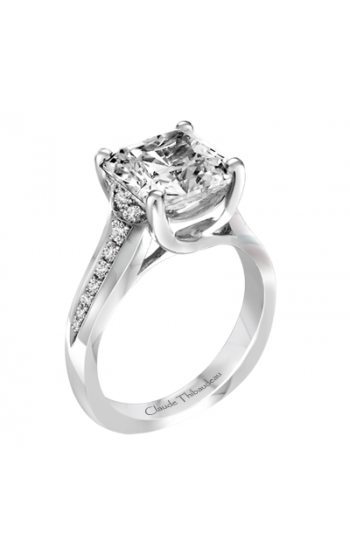 Claude Thibaudeau Simplicite Engagement ring PLT-1969-MP product image