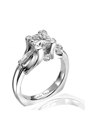 Claude Thibaudeau Simplicite Engagement Ring PLT-1629 product image
