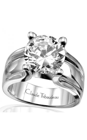 Claude Thibaudeau Simplicite Engagement ring PLT-1454 product image