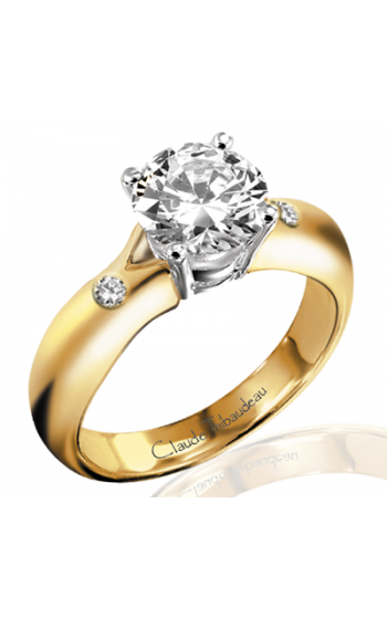 Claude Thibaudeau Simplicite Engagement Ring PLT-2190 product image