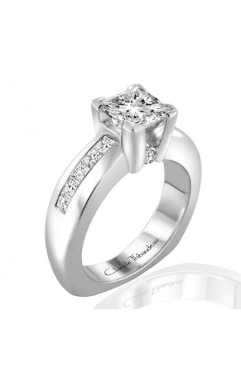 Claude Thibaudeau Simplicite Engagement ring PLT-1633 product image