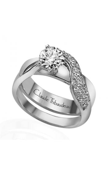 Claude Thibaudeau Simplicite Engagement Ring PLT-1285 product image