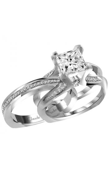 Claude Thibaudeau Interchangeables Engagement Ring PLT-1946R-MP product image
