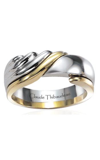 Claude Thibaudeau The Inseparables Men's Wedding Band IF-25-H product image