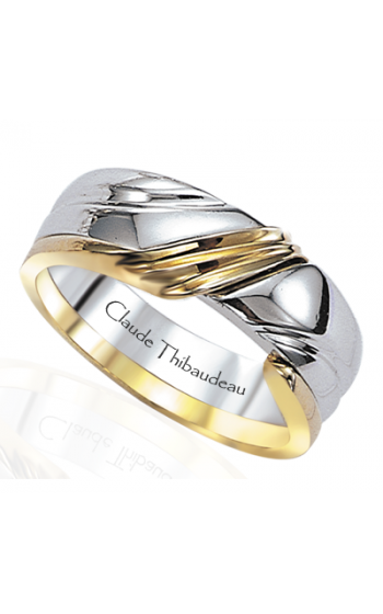 Claude Thibaudeau The Inseparables Men's Wedding Band IF-17-H product image