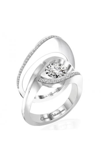 Claude Thibaudeau Petite Designs Engagement ring PLT-10007-MP product image
