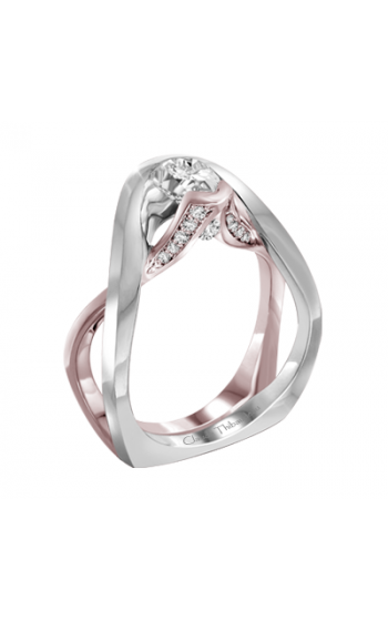 Claude Thibaudeau Petite Designs Engagement ring PLT-10001R-MP product image
