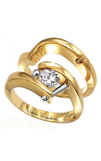 Claude Thibaudeau Petite Designs Engagement Ring PLT-238 product image