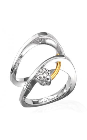 Claude Thibaudeau Petite Designs Engagement ring PLT-1236 product image