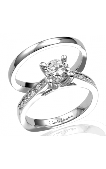 Claude Thibaudeau Petite Designs Engagement Ring PLT-1521 product image