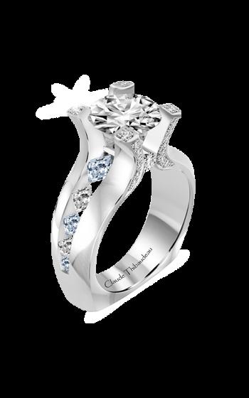 Claude Thibaudeau La Royale Engagement Ring PLT-10193-MP-BDT product image