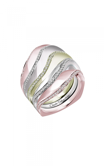 Claude Thibaudeau Avant-Garde Wedding band PLT-10185RVR-MP product image