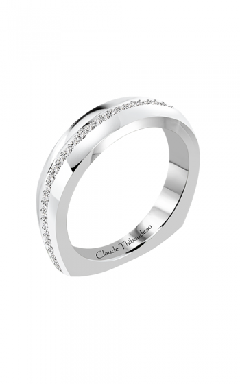 Claude Thibaudeau Just Released Wedding Band PLT-10197-JMP product image