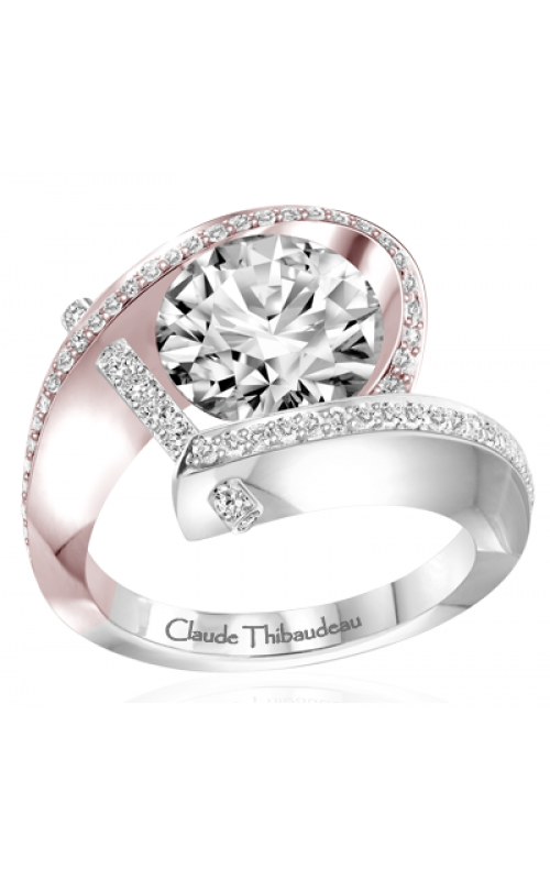 Claude Thibaudeau Pure Perfection Engagement ring PLT-7831RW-MP product image