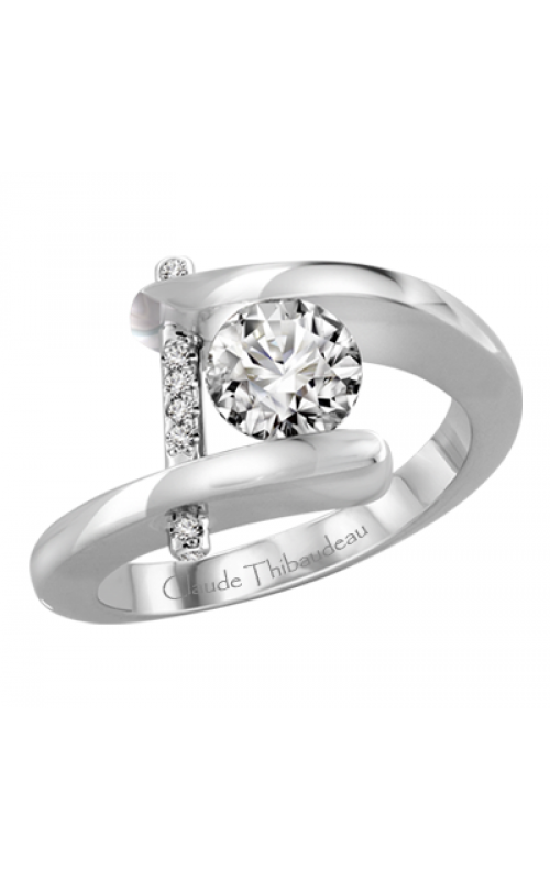 Claude Thibaudeau Pure Perfection Engagement Ring PLT-13-MP product image