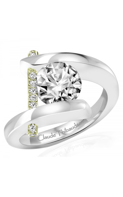 Claude Thibaudeau Pure Perfection Engagement ring PLT-165V-MP product image