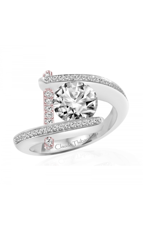 Claude Thibaudeau Pure Perfection Engagement ring PLT-1837R-MP product image