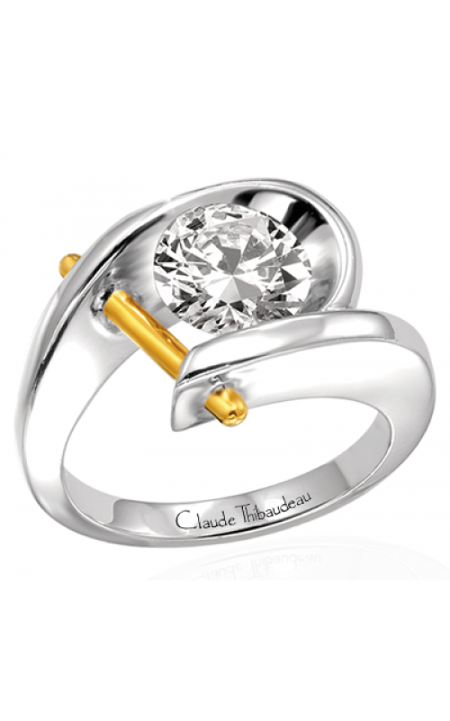 Claude Thibaudeau Pure Perfection Engagement ring PLT-1097 product image