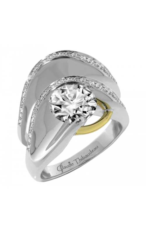 Claude Thibaudeau Pure Perfection Engagement ring PLT-1857-MP product image