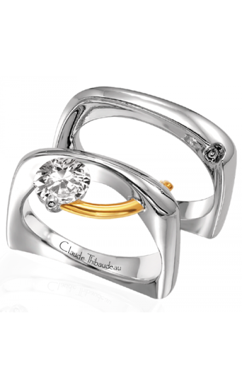 Claude Thibaudeau Pure Perfection Engagement Ring PLT-12 product image