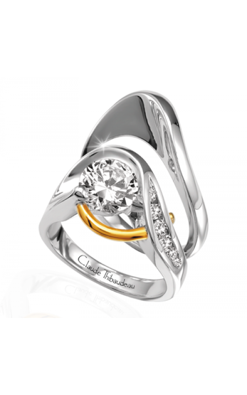 Claude Thibaudeau Pure Perfection Engagement ring PLT-1050 product image